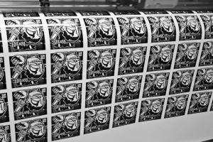 Digitaldruck Aufkleber mit Konturschnitt